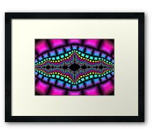 Psychedelic and Trippy Framed Print