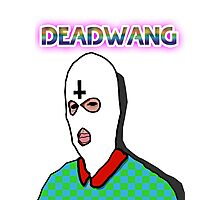 DEADWANG RAINBOW LOGO wit ENDO face Photographic Print