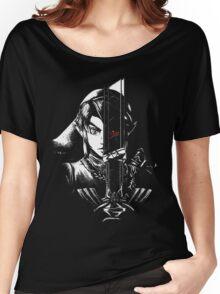 black zelda Women's Relaxed Fit T-Shirt