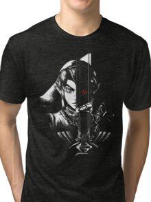 black zelda Tri-blend T-Shirt