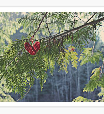 Nature's Heart Sticker