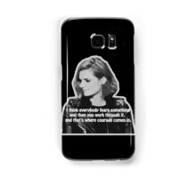 STANA KATIC, QUOTE Samsung Galaxy Case/Skin