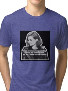 STANA KATIC, QUOTE Tri-blend T-Shirt