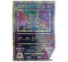 Pokemon Card- Mew Poster