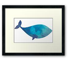 Sky Whale Framed Print