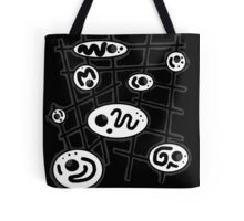 Black and white abstract design Tote Bag