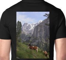 View of the Eiger from Mürren Unisex T-Shirt