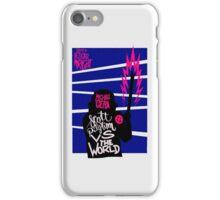 Scott Pilgrim VS The World Poster iPhone Case/Skin
