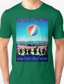 D & Co Alpine Valley Music Theatre East Troy, WI Unisex T-Shirt