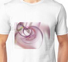 Heart Fractal Unisex T-Shirt