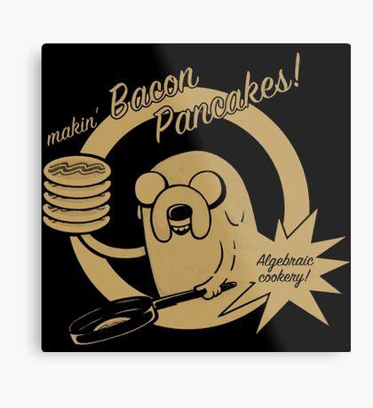 Bacon Pancakes T-Shirts Metal Print