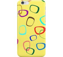 Square Hoops iPhone Case/Skin