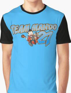 Team Mando! (Blue) Graphic T-Shirt