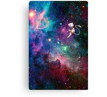 Mew- Galaxy Canvas Print