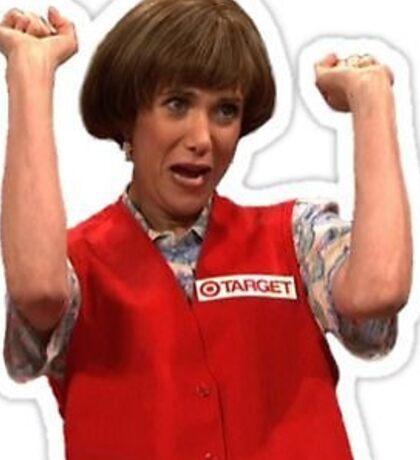 Kristen Wiig Target Lady SNL Sticker