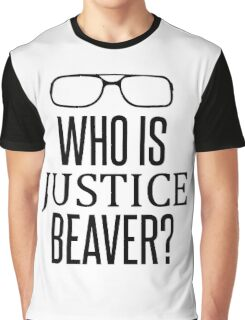 Justice Beaver - The Office Graphic T-Shirt
