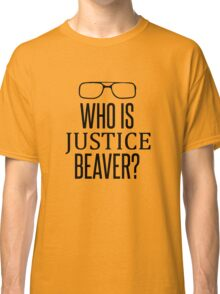Justice Beaver - The Office Classic T-Shirt