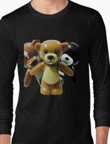 The Trio of Teddys Long Sleeve T-Shirt