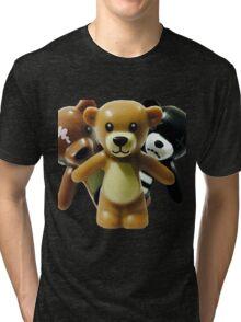 The Trio of Teddys Tri-blend T-Shirt