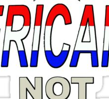 AMERICANISM 1 Sticker