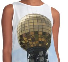 Golden Disco Ball Contrast Tank