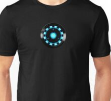 ARC-REACTOR, I AM THE IRON. Unisex T-Shirt