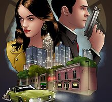 Undercover Fitzsimmons by eclecticmuse