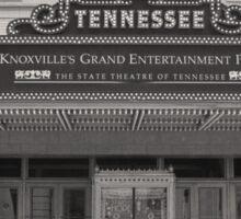 Tennessee Theater  Sticker