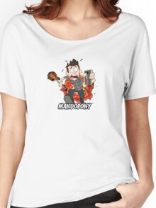 MandoPony™ Explodes Women's Relaxed Fit T-Shirt