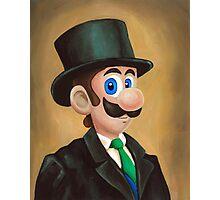 Dapper Luigi Photographic Print