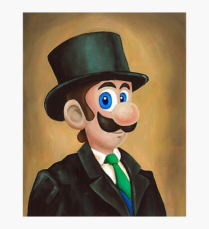 Dapper Luigi Photographic Print