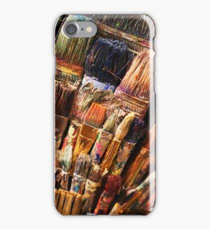 paintbrushes iPhone Case/Skin