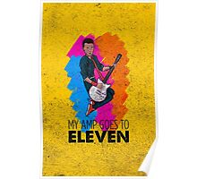 My Amp Goes to Eleven Poster