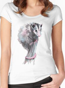 Virginia Opossum Baby Women's Fitted Scoop T-Shirt