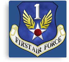 First Air Force Emblem Canvas Print