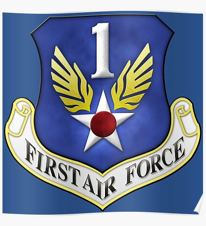 First Air Force Emblem Poster