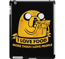 I Love Foods Pizza Jake iPad Case/Skin