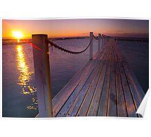 Sunrise - Narrabeen Sydney Australia Poster