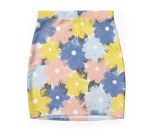 Yellena Spring Floral Pattern Mini Skirt