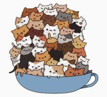 Cat Soup Mountain  Kids Tee