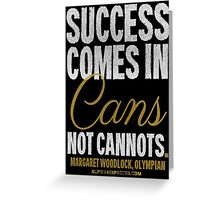 Canned Success T-shirts & Homewares Greeting Card