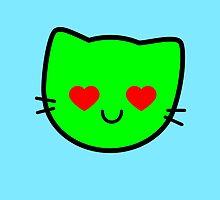 Kawaii Kitty Cats 2048 - tile 512 by tankdodger