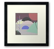 Planet, Far Away Framed Print