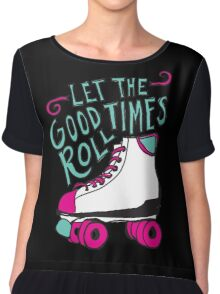 Let the Good Times Roll Chiffon Top