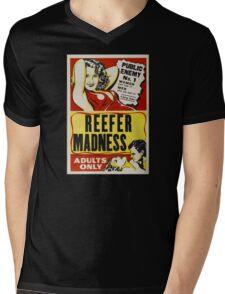 Reefer Madness - Marijuana campaign Mens V-Neck T-Shirt