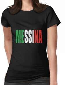 Messina. Womens Fitted T-Shirt