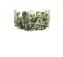 Breaking Bad Stylized Collage Photographic Print