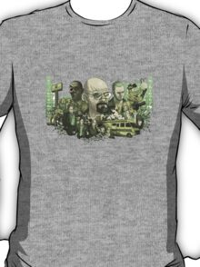 Breaking Bad Stylized Collage T-Shirt