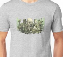 Breaking Bad Stylized Collage Unisex T-Shirt