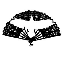 Raven Fan by SKUniqueDesigns